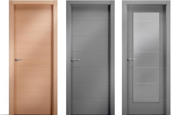 Puertas de paso carpin y decora for Puertas de paso de cristal